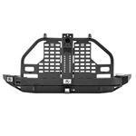 XRC Atlas Rear Bumper and Tire Carrier Black for Wrangler 2007-2018