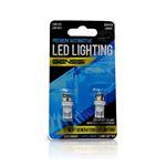 194 168 W5W T10 LED Bulbs 5 SMD 360 (2 Pack)