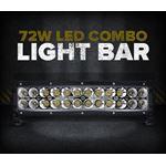 "72W 14"" LED SPOT/FLOOD LIGHT BAR"