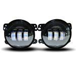 GENSSI LED FOG LIGHTS FOR 07-16 JEEP WRANGLER JK F