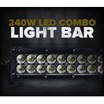 "240W 42"" LED SPOT/FLOOD LIGHT BAR"