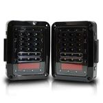 XPE Black LED Tail Lights 3