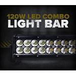 "120W 22"" LED SPOT/FLOOD LIGHT BAR"