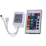LED Strip RGB Controller IR 24 Key Thin Remote