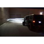 APOLLO Chrome Projector LED Headlights for Wrangler JL Gladiator 2018+