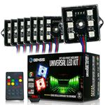 8 Module 48 LED RGB Color Wireless Exterior