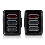 DIAMOND Black LED Tail Lights 3