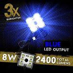 48 LED BLUE 8 MODULE EXTERIOR TRUCK BED LIGHTS 3