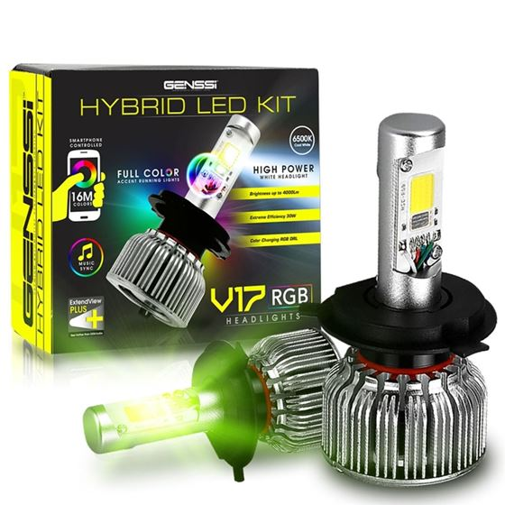 V17 2-IN-1 LED CONVERSION KIT AND RGB HEADLIGHT 2