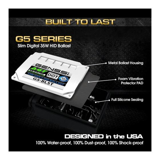 G5 HID Xenon Replacement Compact Ballast 3