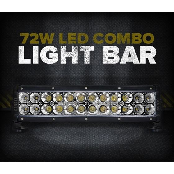 "72W 14"" LED SPOT/FLOOD LIGHT BAR"