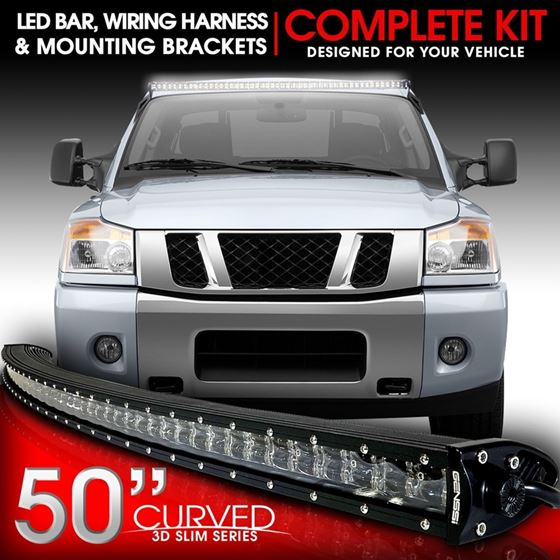 3D Slim Low Profile LED Light Bar
