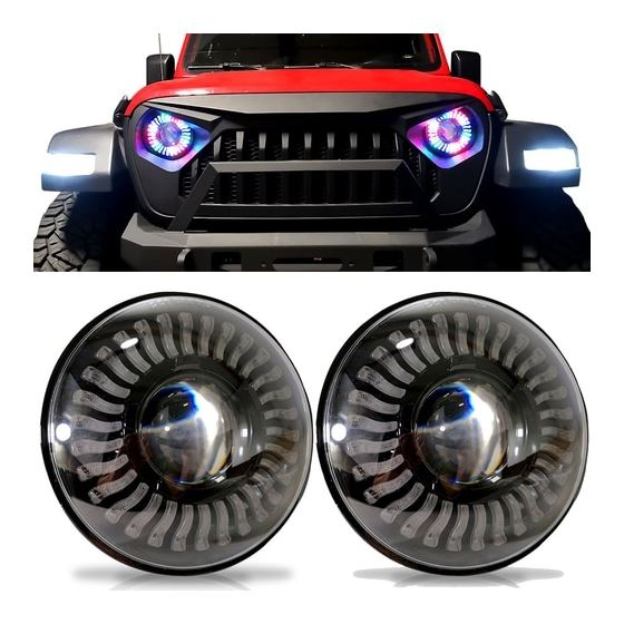 Demon Eye LED Headlights for Wrangler JL  Gladiator 2018+