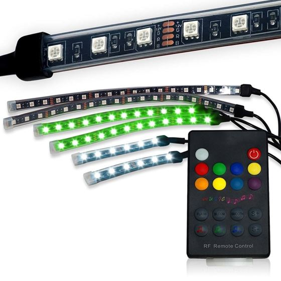 6 LED Strip Wireless Accent Kit