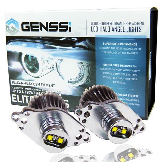 ELITE HALO ANGEL EYES BULBS FOR BMW HEADLIGHTS (E90 / E91 W/ HALOGEN HEADLIGHTS 2009-2011 LCI