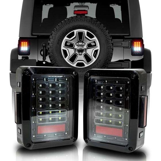 XPE Black LED Tail Lights