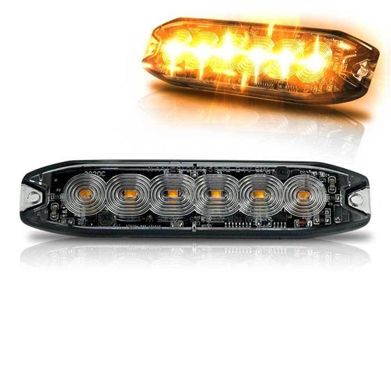 Surface Mount Pro Grade Amber LED Strobe Light 5 L