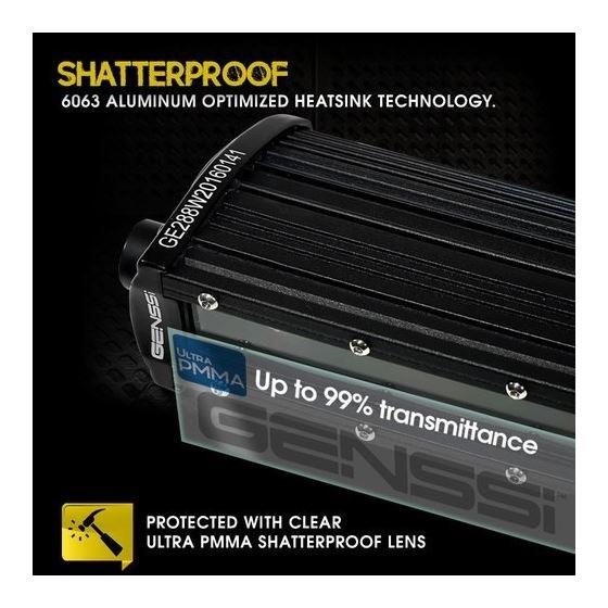 3D Slim Low Profile LED Light Bar 3