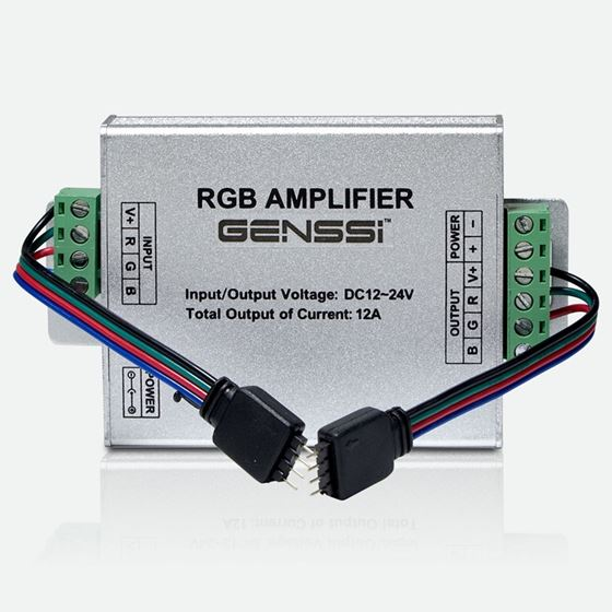 RGB LED Strip Amplifier Repeater 3