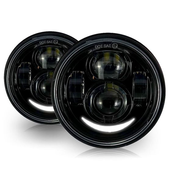 GENSSI 4.65 IN LED PROJECTOR HEADLIGHT HARLEY DAVI