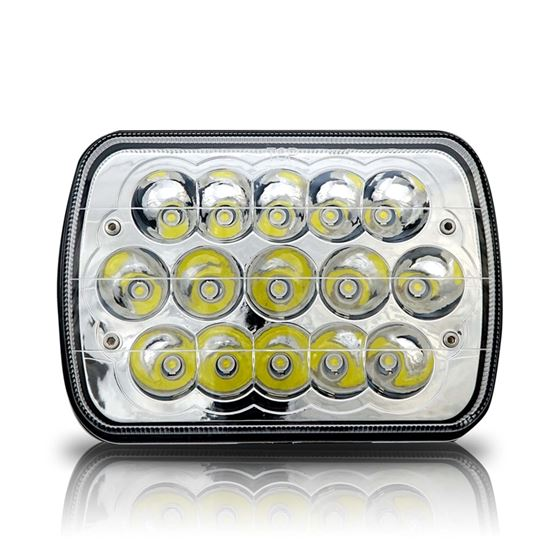 GENSSI 7X6 H6054 200MM LED HEAD LIGHT SEALED BEAM