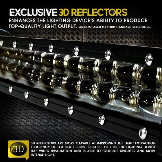 LED Light Bar 48W 8 Inches Side Bracket 3