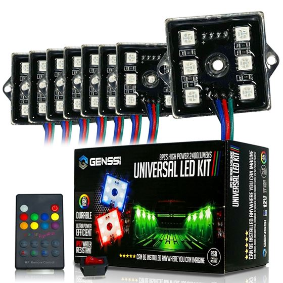 48 LED COLOR RGB WITH REMOTE CONTROL TRUCK BED LIGHTS